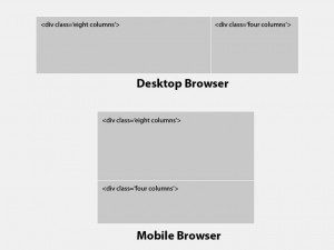 responsive design boxes