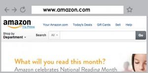 domain amazon.com