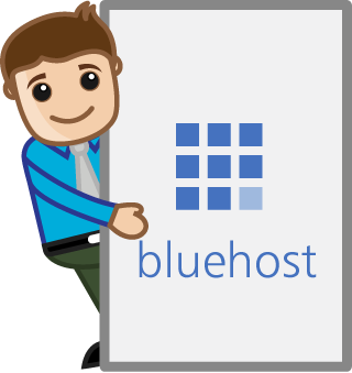 recommended website hosting : bluehost