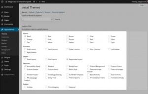 WordPress web design step 3