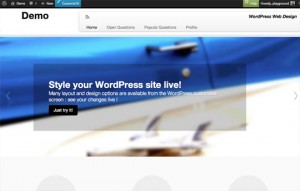 WordPress web design step 7