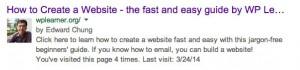 google+ authorship
