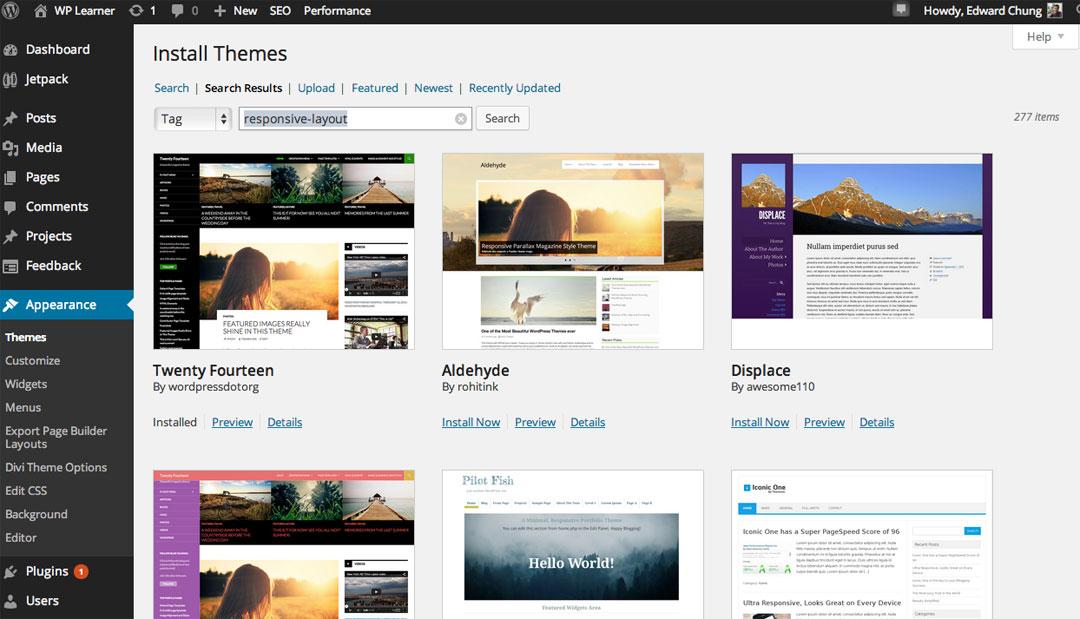 WordPress Responsive Theme