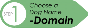 go to step 1 of creating a website: choose a domain